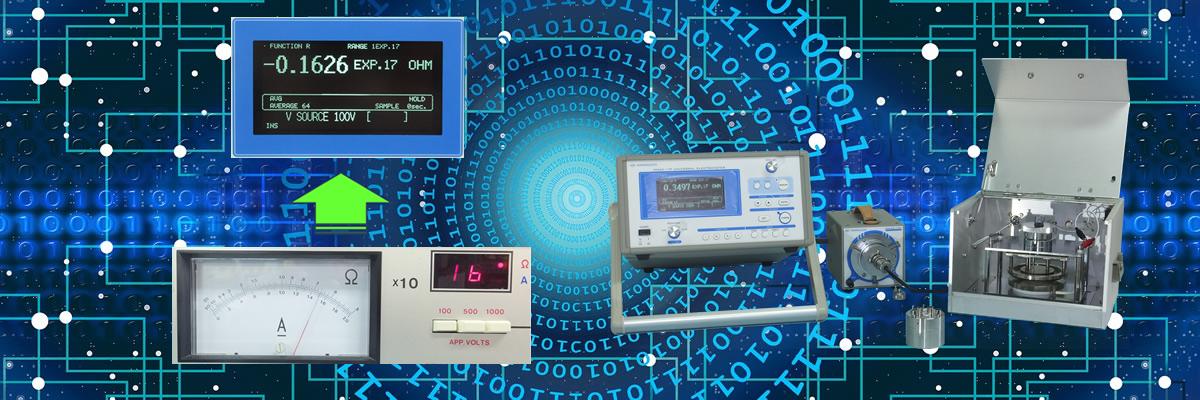 エレクトロメーター・計測器・電極